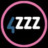 4ZZZ 102.1 FM radio logo